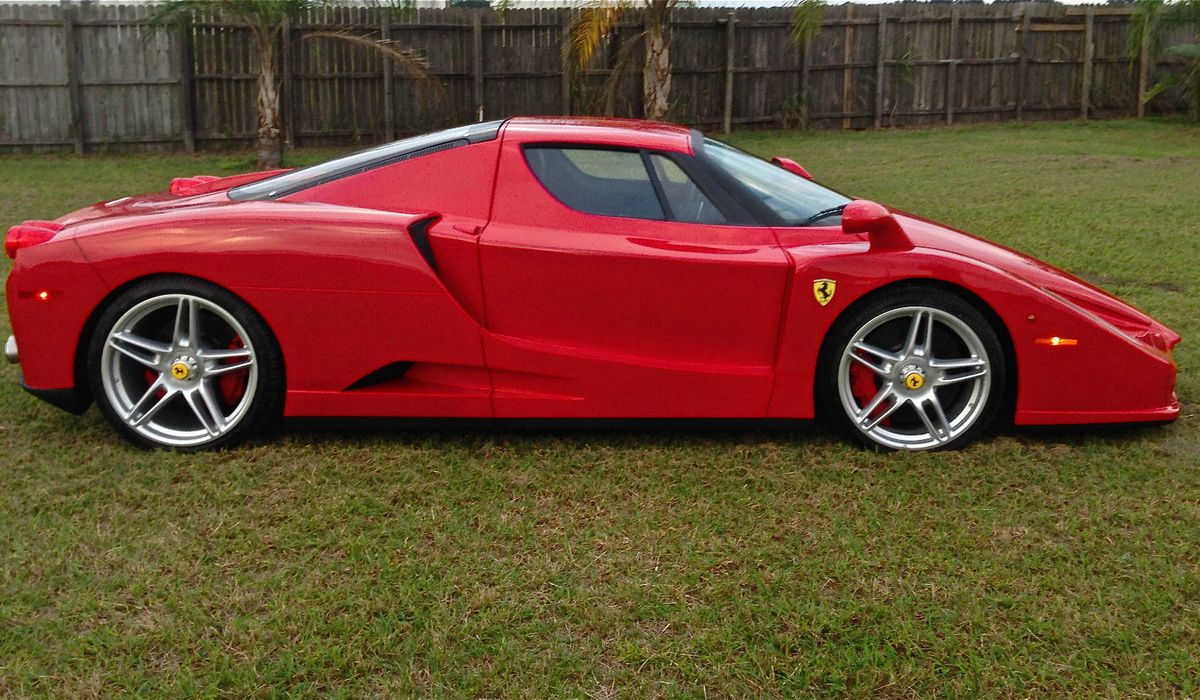 This Weird Looking Ferrari Enzo Replica Is A Terrible Way To Spend £250k