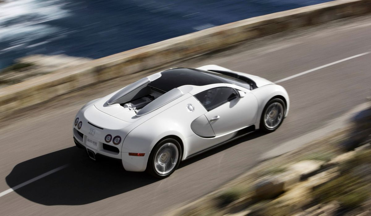 the average bugatti veyron owner is so rich, they have 84 cars