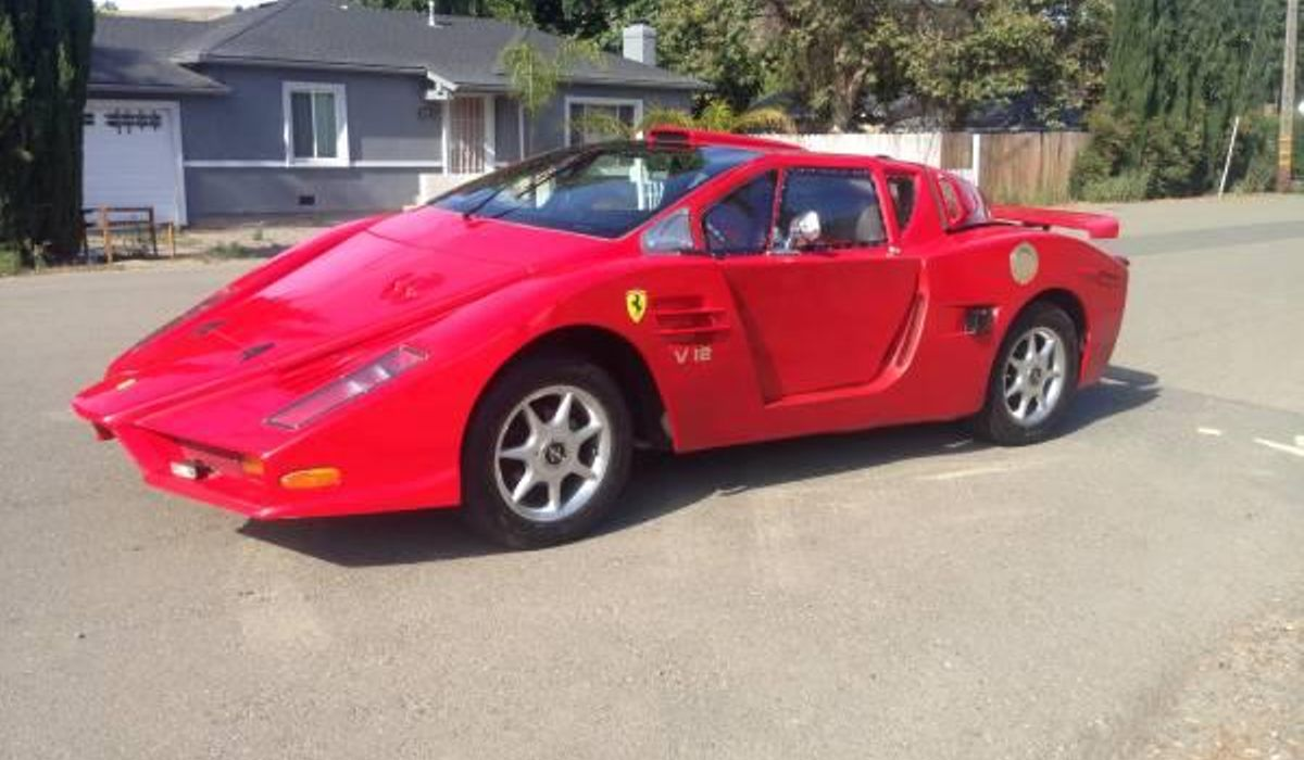 This Might Just Be The Worst Ferrari Replica Known To kind