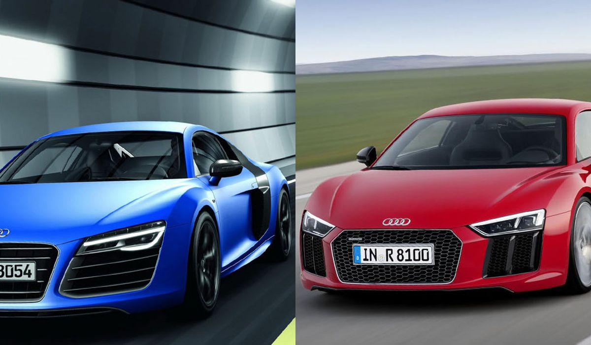 Which Looks Best: The New Audi R8 Or The Outgoing Version?