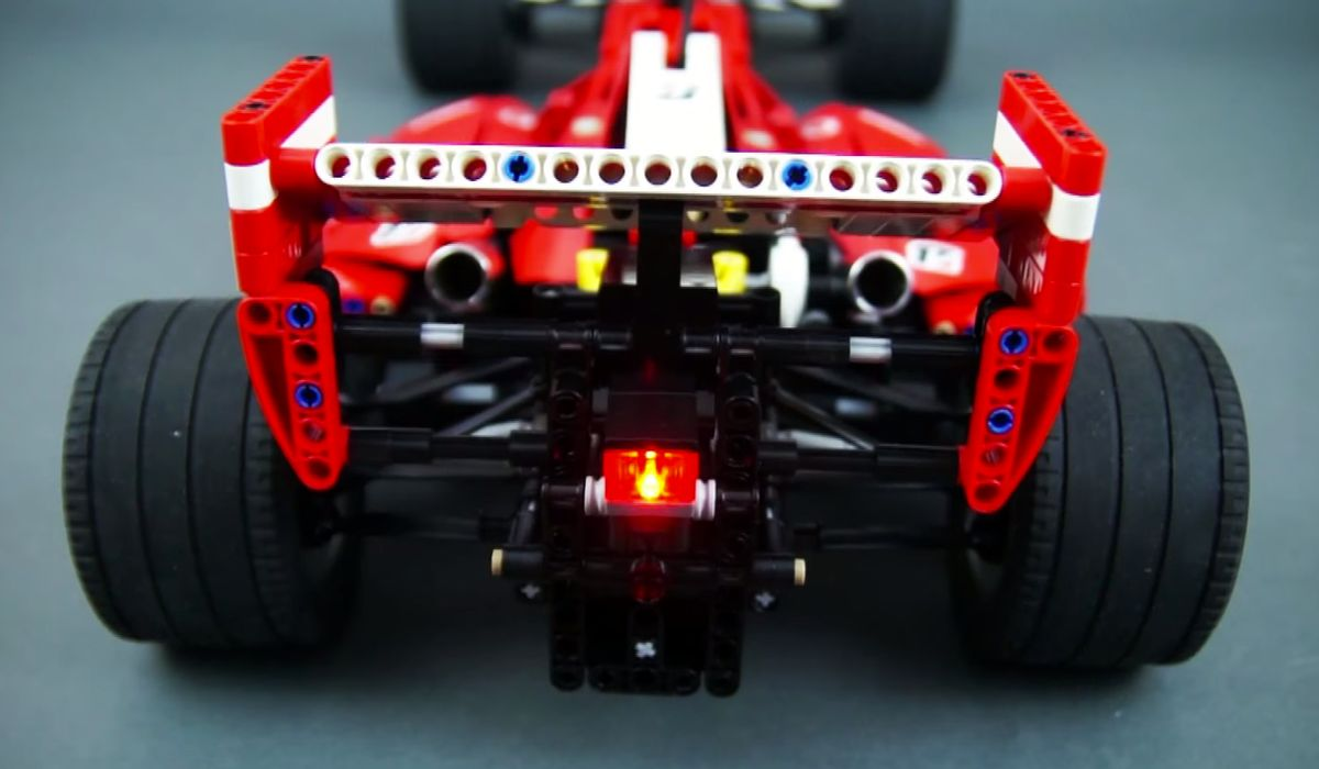 Prepare To Lose Your Mind Over This Incredible Lego Ferrari F1 Rc Car