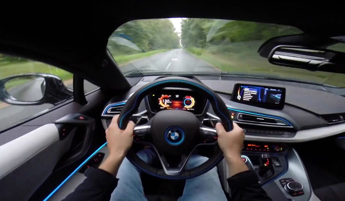 Go Pov For 0 158mph Top Speed Runs In A Bmw I8