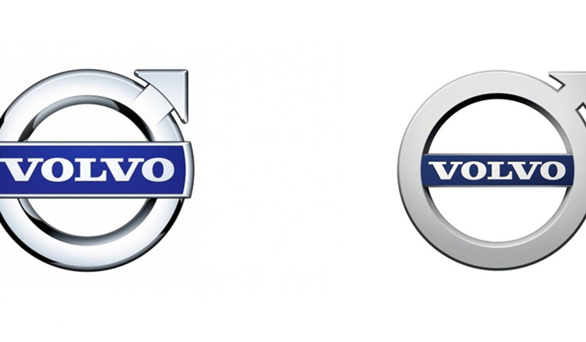 What Do You Think Of Volvos New But Not So Different Logo