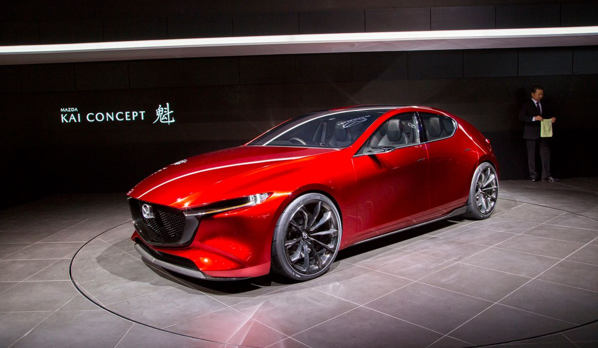 If Only All Hatchbacks Were As Stunning As The Mazda Kai Concept