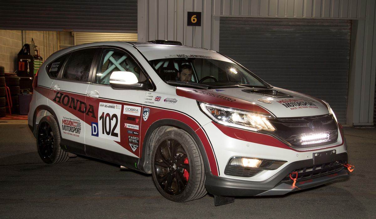 A Diesel Honda CR V Race Car Has Been Created And Its For A Great
