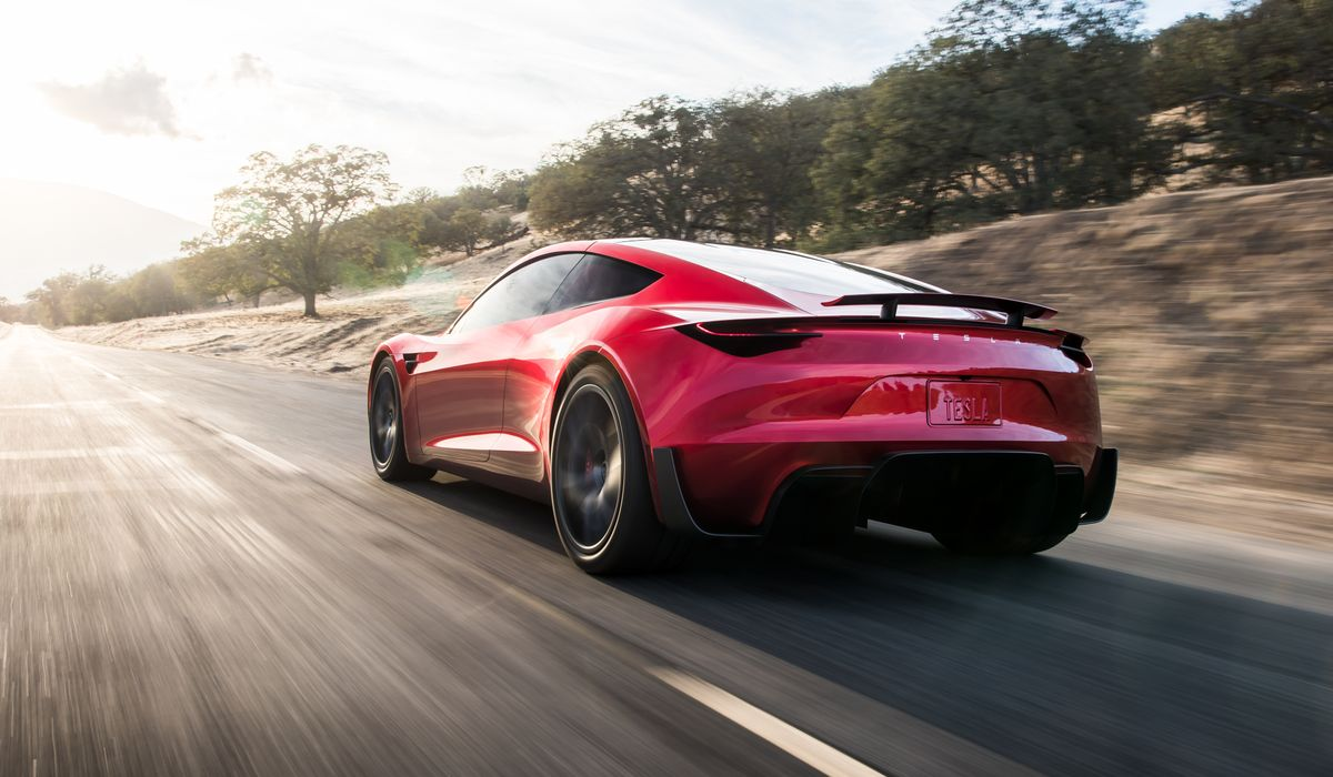 The 8 8-Sec 1/4-Mile Tesla Roadster Will Get Even Faster