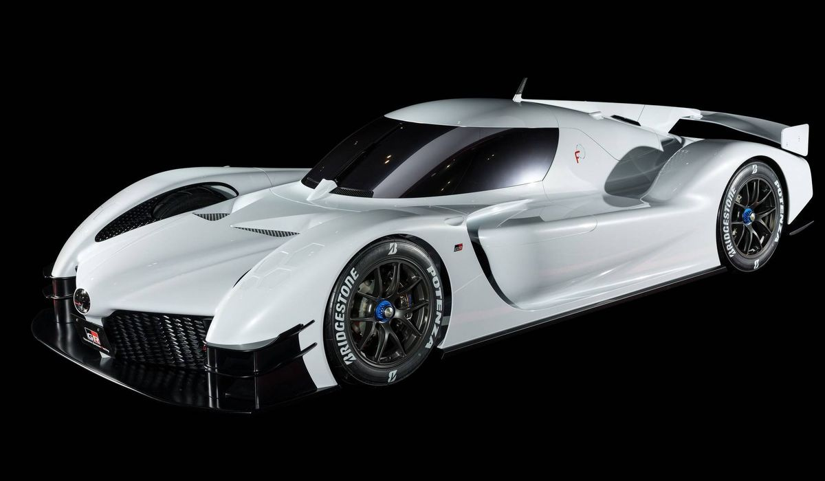 The Toyota Gr Super Sport Concept Is Here With Nearly 1000bhp