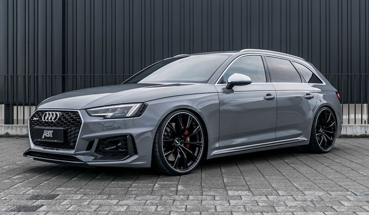 Abts Audi Rs4 Is Here With 503bhp And Spangly Wheels