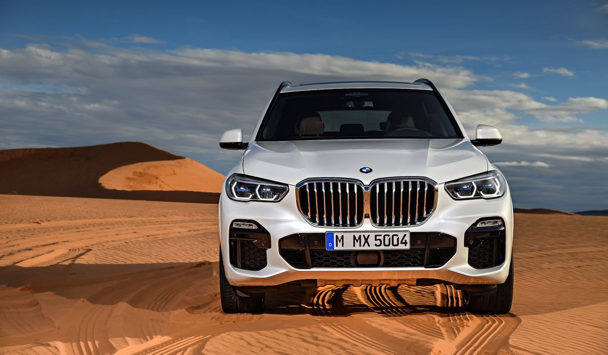 Get A Load Of The Huge Kidney Grilles On The New Bmw X5
