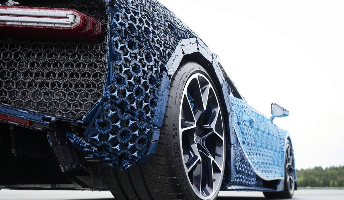 There S Now A Life Size Driveable Lego Technic Bugatti Chiron