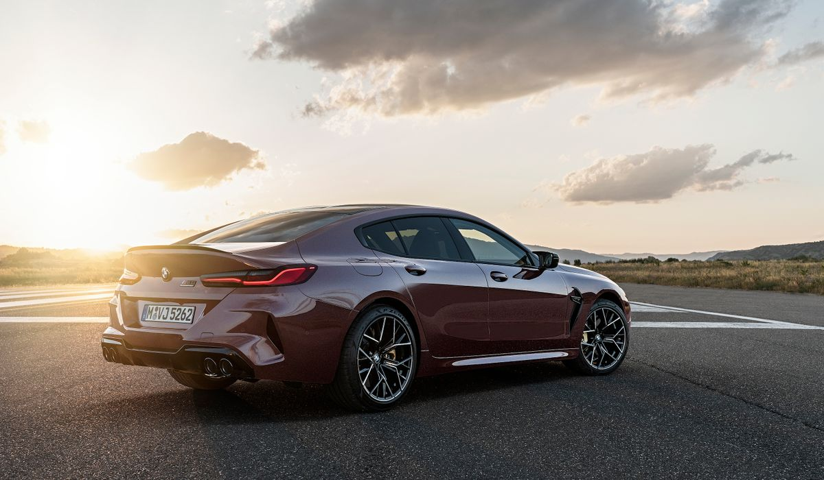The New Bmw M8 Gran Coupe Is Just As Bonkers Fast As The Two Door