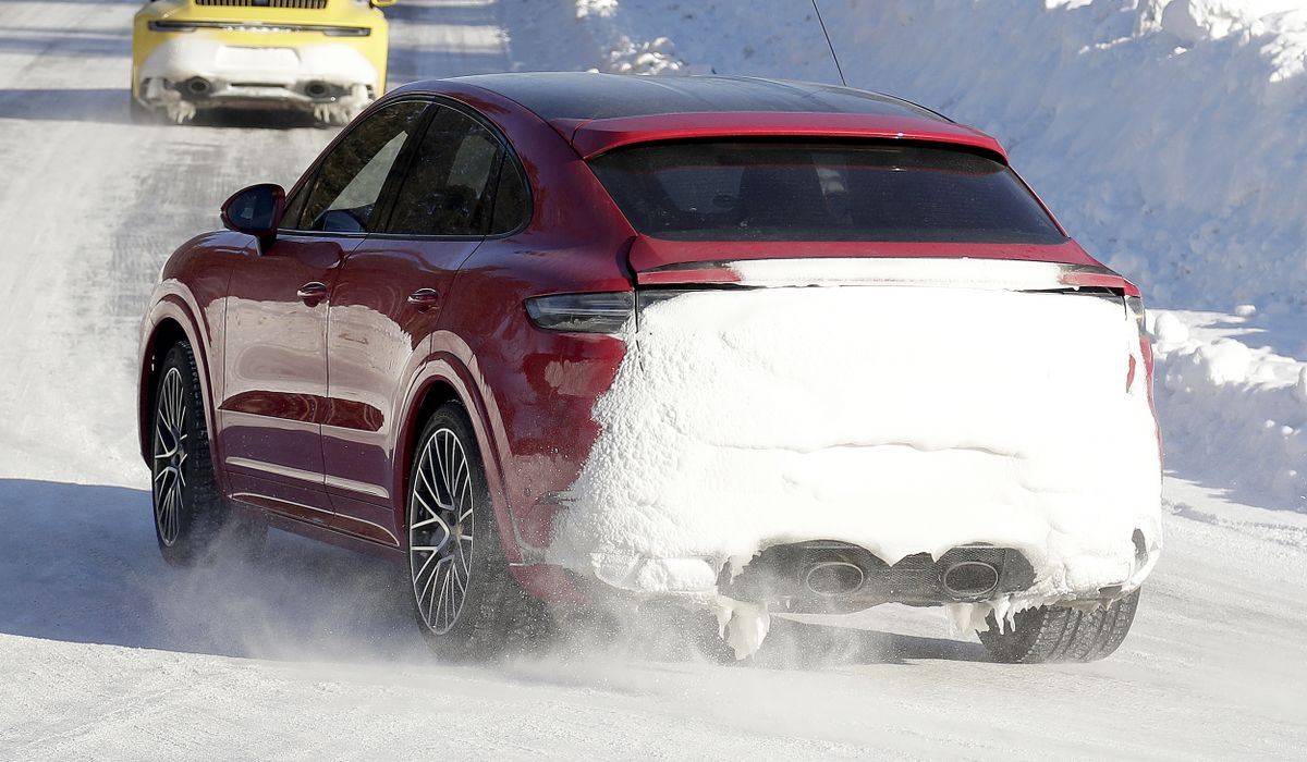 Check Out The Centre Exit Exhaust On The Next Porsche Cayenne Gts