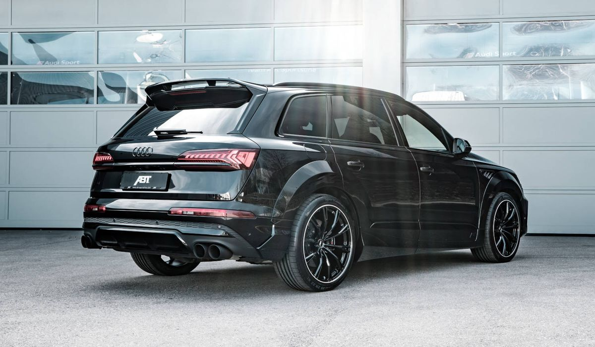 This Widebody Audi Sq7 Is Good For 513bhp And Nearly 1000nm