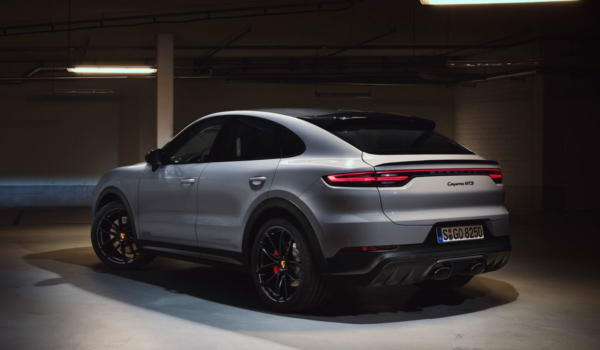 This Is The New V8 Powered Porsche Cayenne Gts