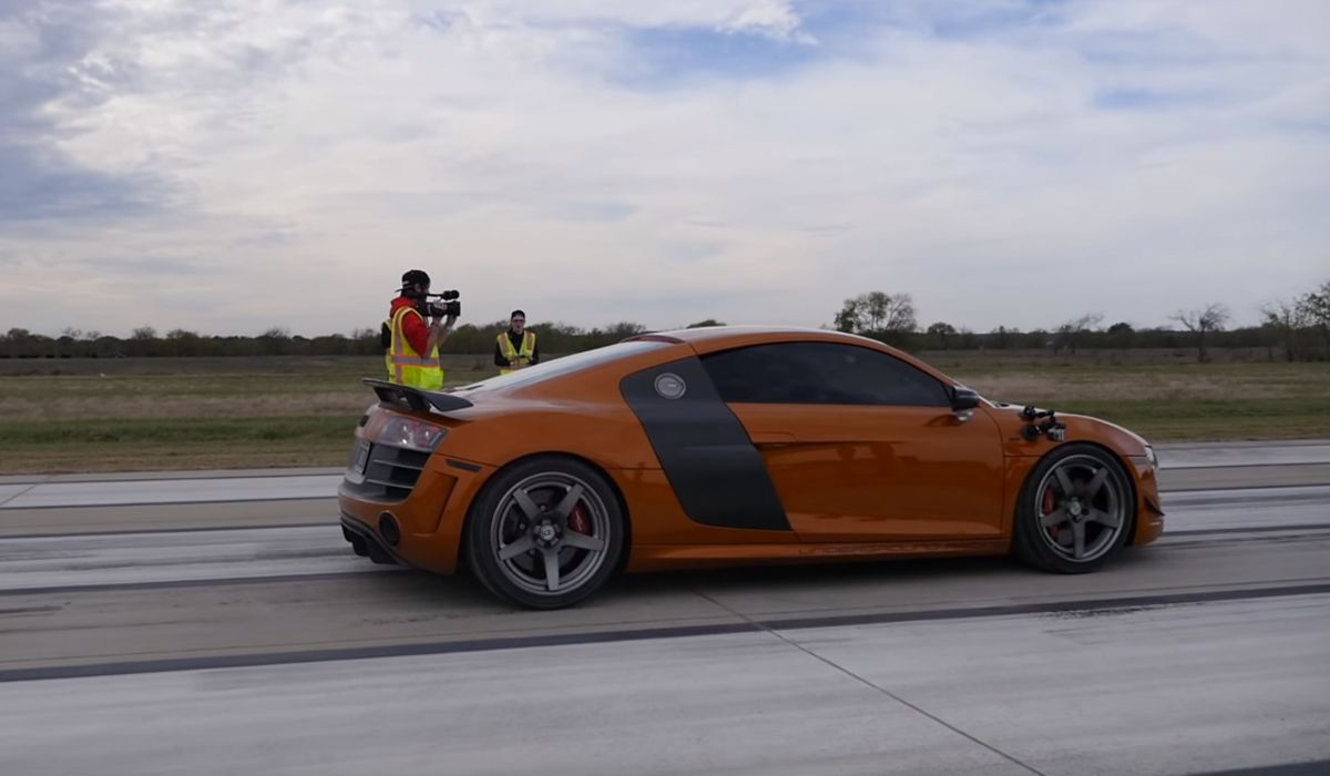 A Stunning 235mph Standing Half Mile Makes This The World's Fastest
