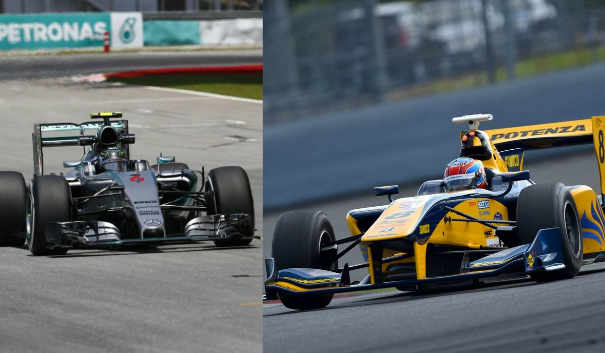 Here's How A Super Formula Car Compares To A Formula 1 Machine