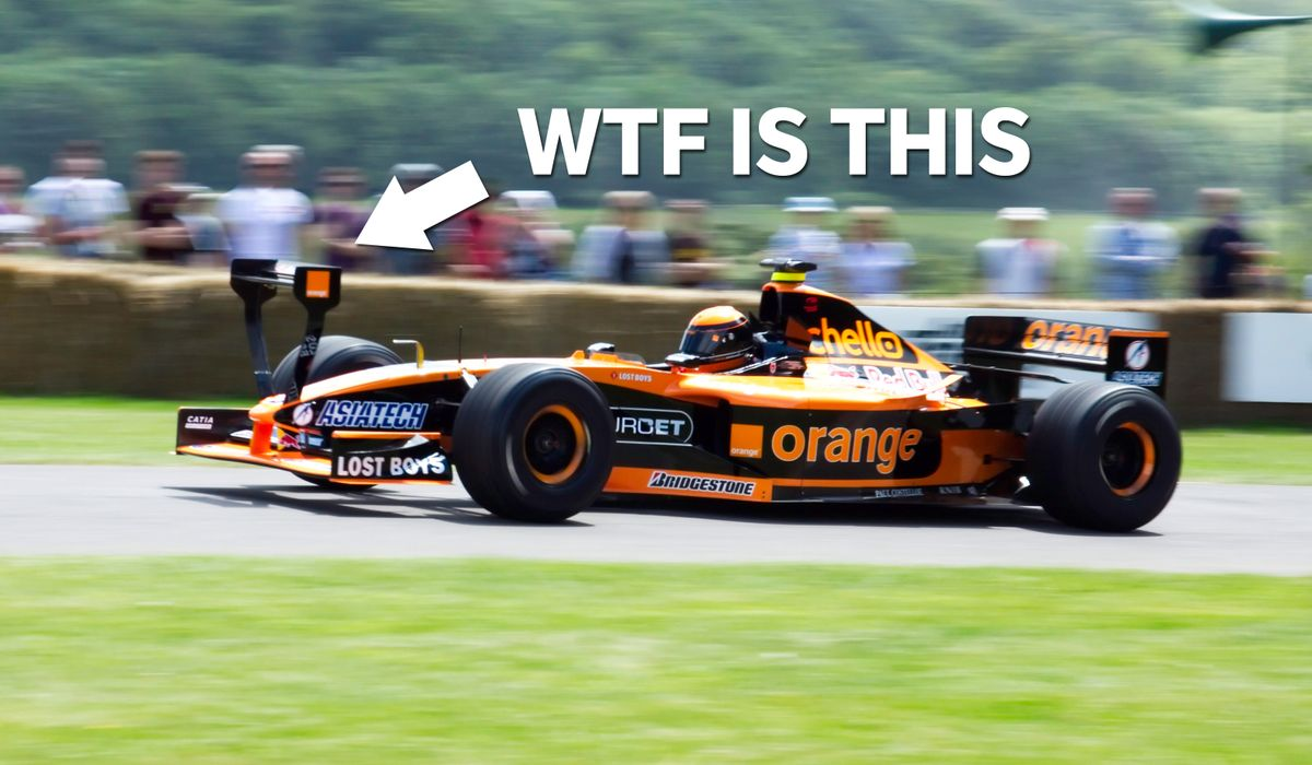 10 Potentially Beautiful F1 Cars Ruined By Minor Details
