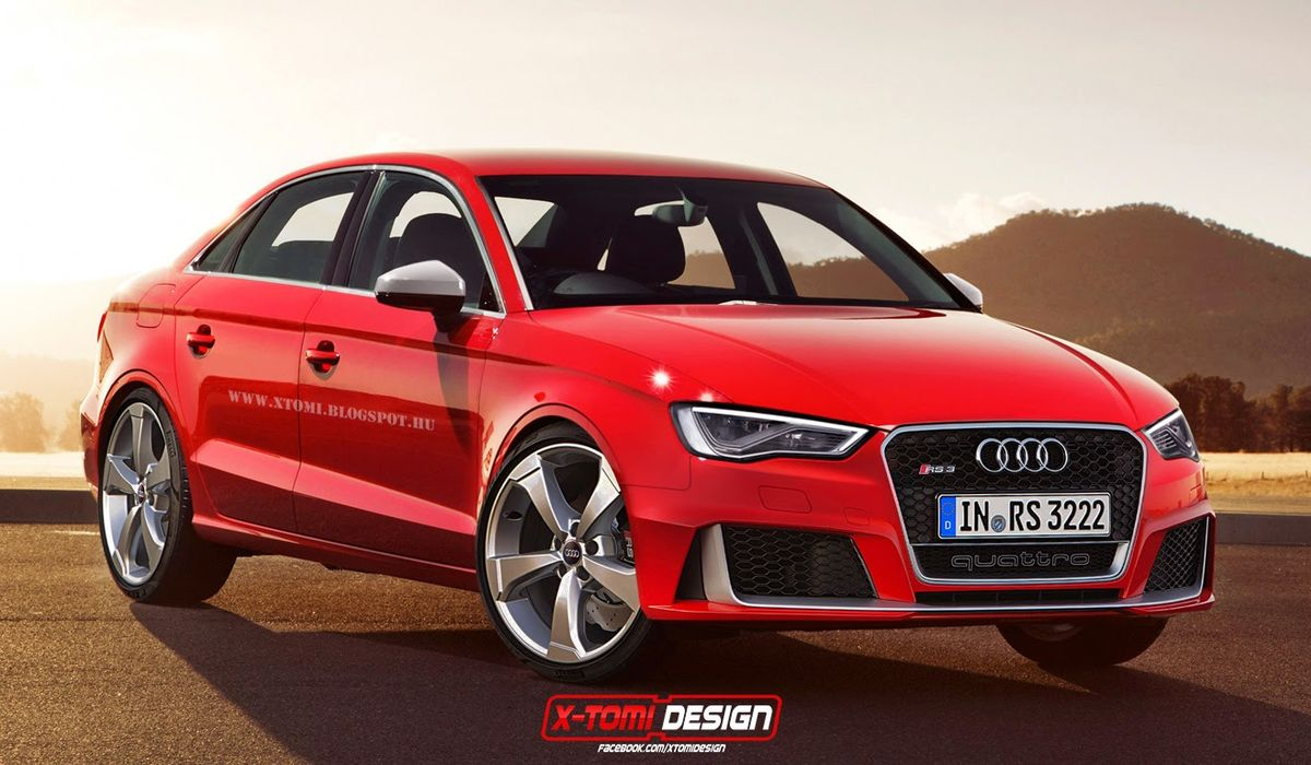 The Confirmed Audi Rs3 Sedan Will Be A Stonking Junior Super Saloon With An Amazing Soundtrack