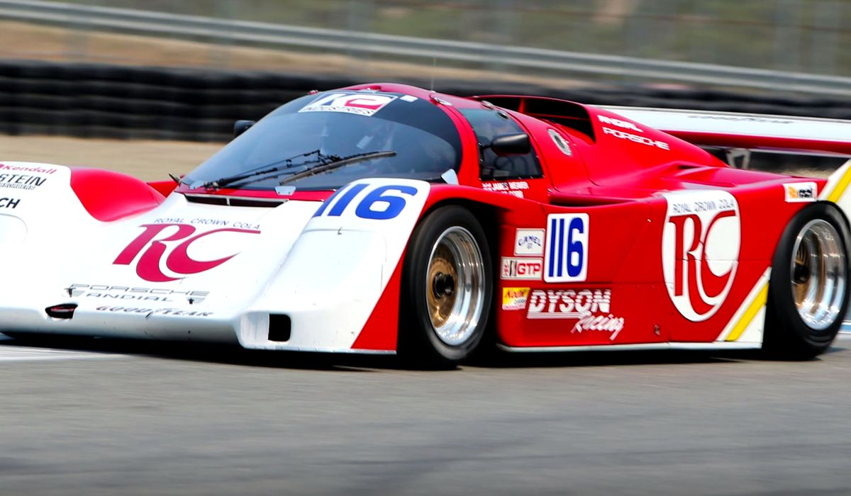 This Porsche 962 Has One Of The Greatest Turbo Wastegate Noises Ever