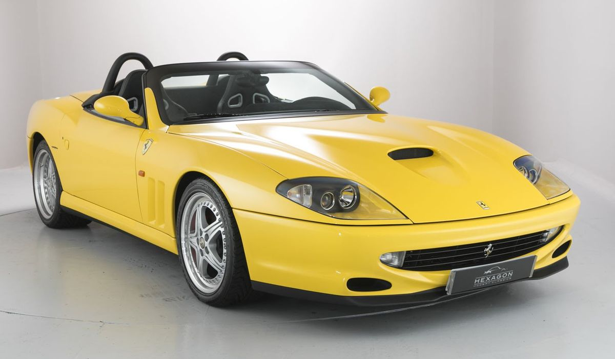 Now S Your Chance To Buy This Glorious Ferrari 550 Barchetta
