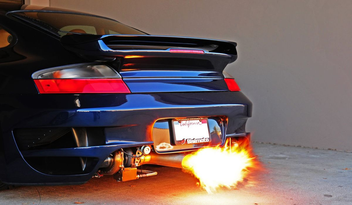 What Causes Flames In A Car's Exhaust?