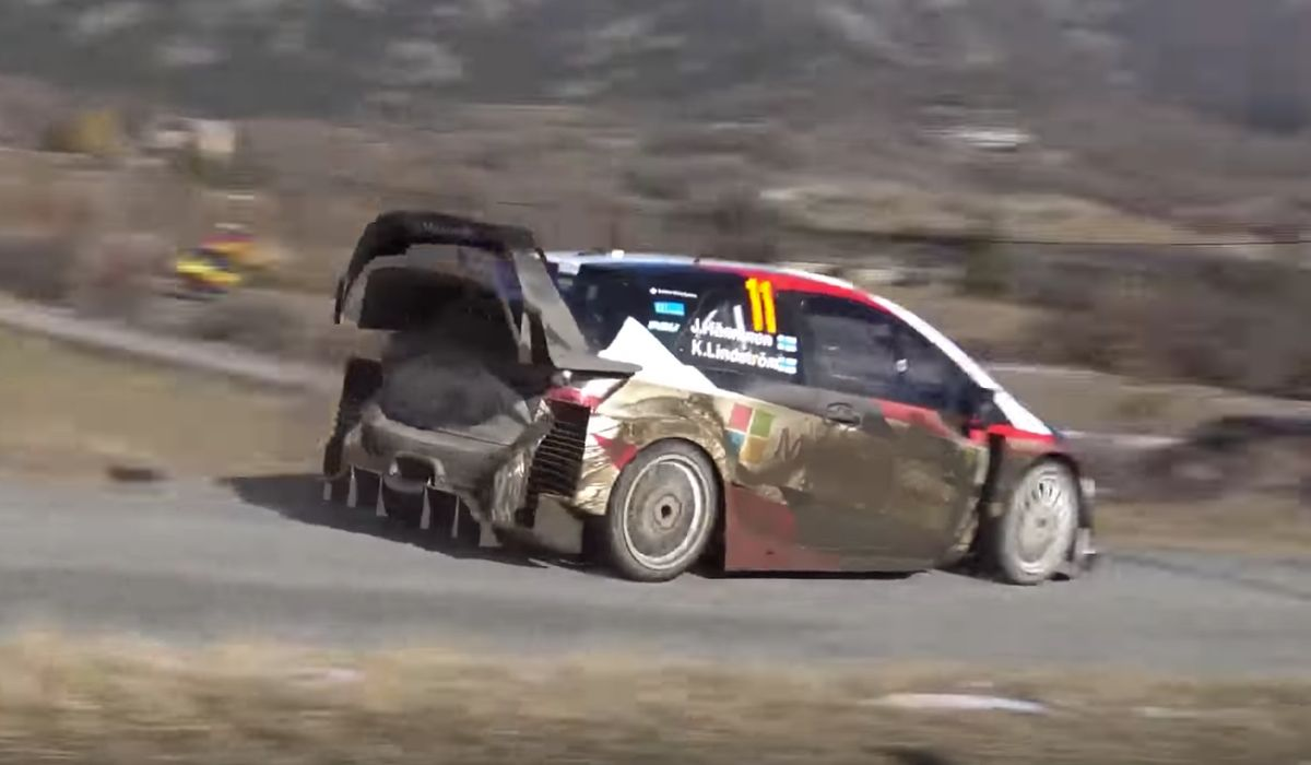 Here\'s More Proof The Toyota Yaris WRC Is The Angriest Rally Car Of ...
