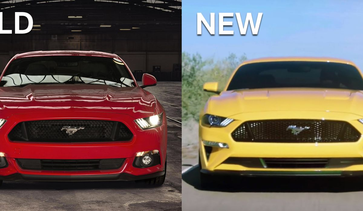 The 2018 Ford Mustang Facelift Has Been Leaked And Not Everyone S Impressed