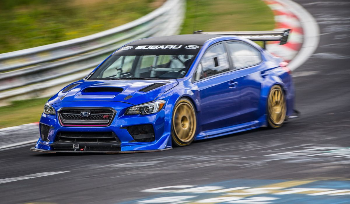 This Prodrive Tuned Wrx Sti Has Just Cracked A Sub 7 Minute