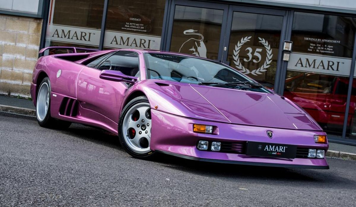 Marvelous The Ultra Rare Lamborghini Diablo SE30 From A Jamiroquai Music Video Is For  Sale And The Want Is Unbearable