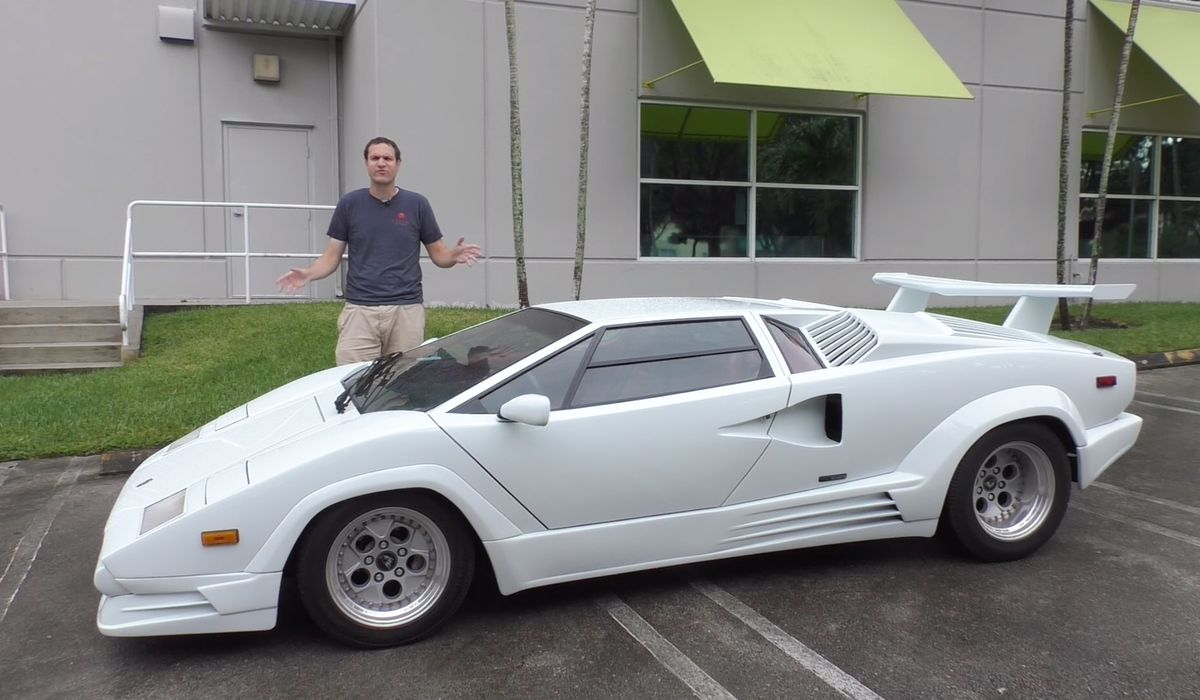 The Lamborghini Countach S Ridiculous Horn Is One Of Many Things To