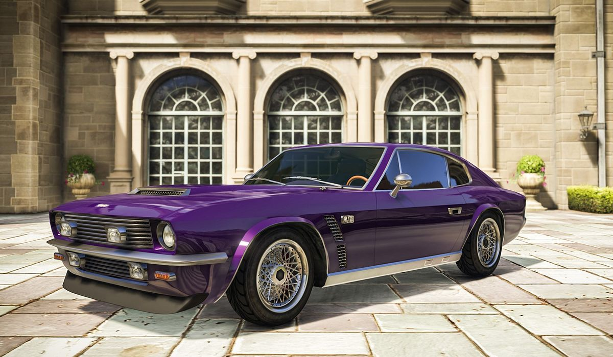 The New Gta Online Vehicle Is A Mash Up Of Two Classic British Gt Cars