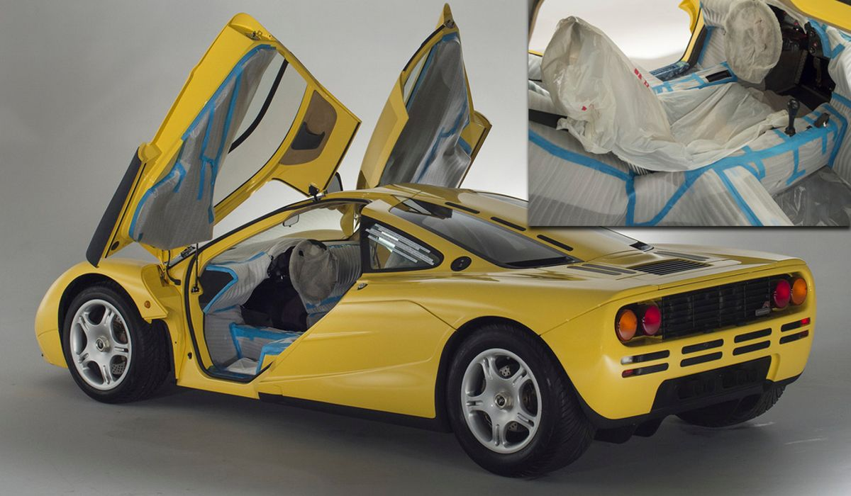 A Delivery Mileage McLaren F1 Is Up For Sale, And It Makes Us A ...
