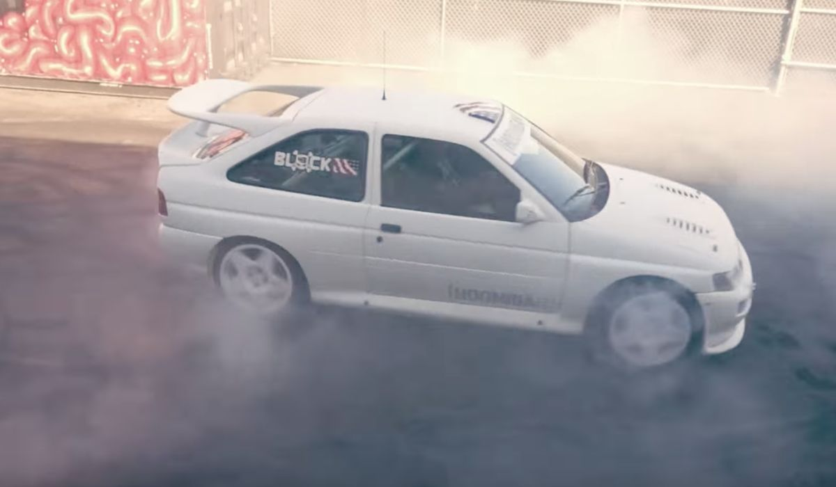 Yes, Ken Block\'s New Ford Escort Cosworth WRC Will Happily Destroy Tyres