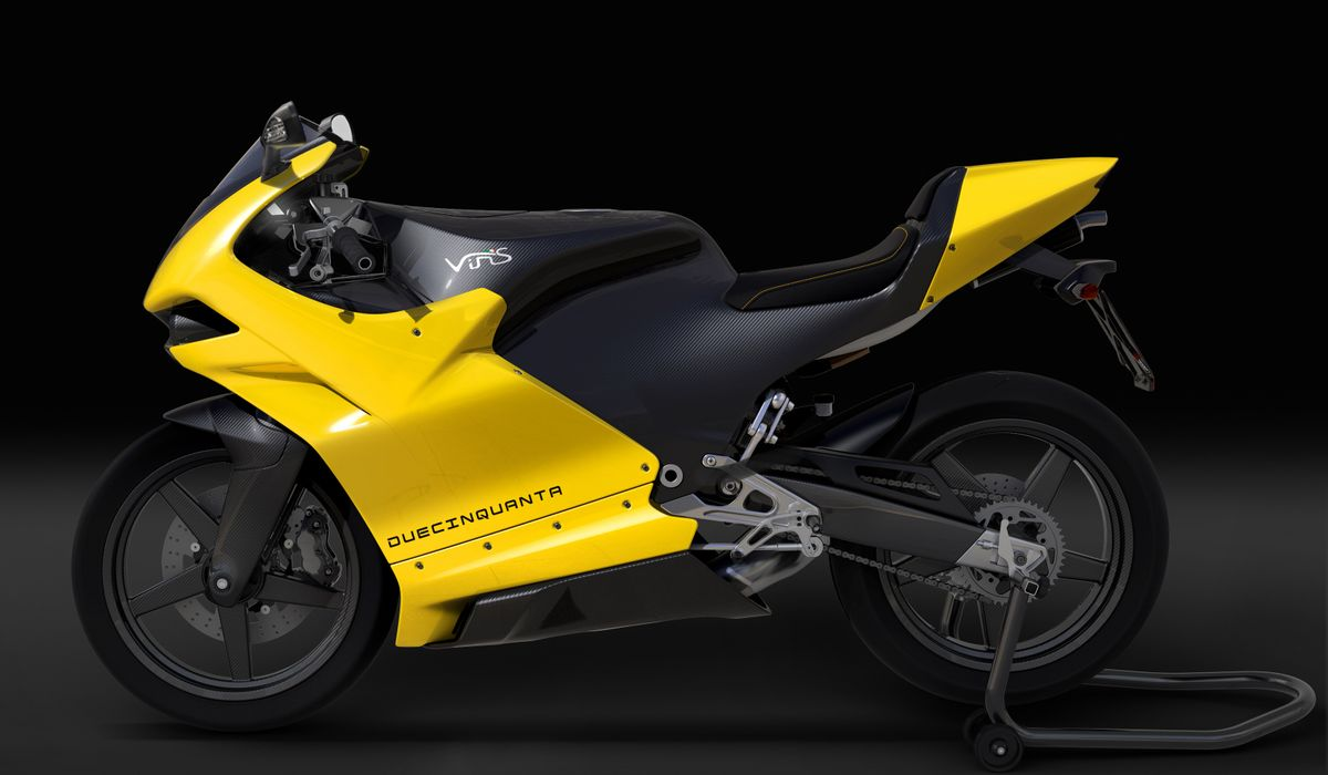 Here's A Modern Two-Stroke Sports Bike Made By Former