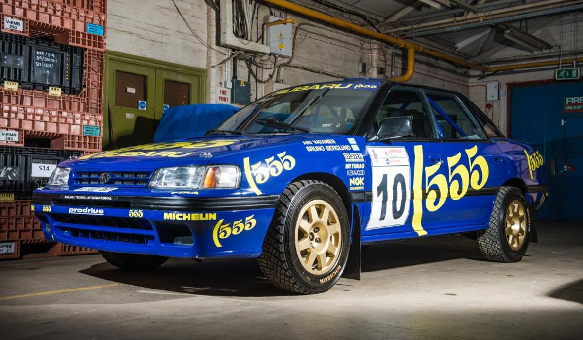 Of Course You Want This Group A Subaru Legacy Rally Car
