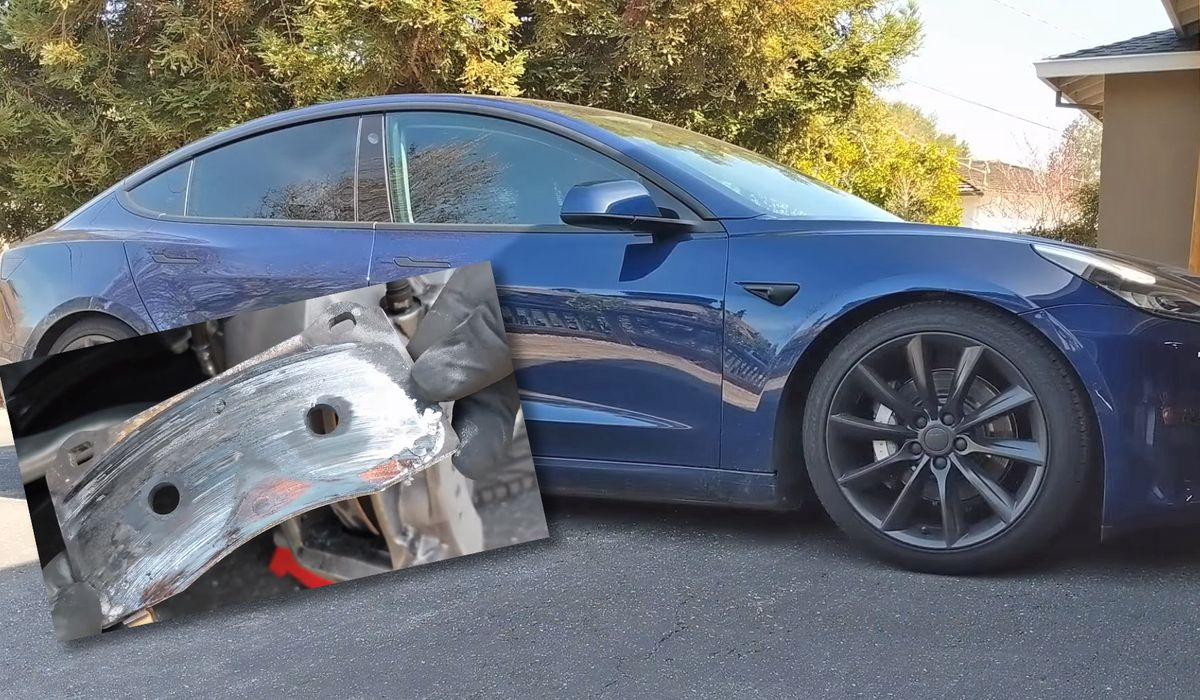 This Tesla Model 3 Burned A Set Of Brake Pads In Just 9 Track Miles