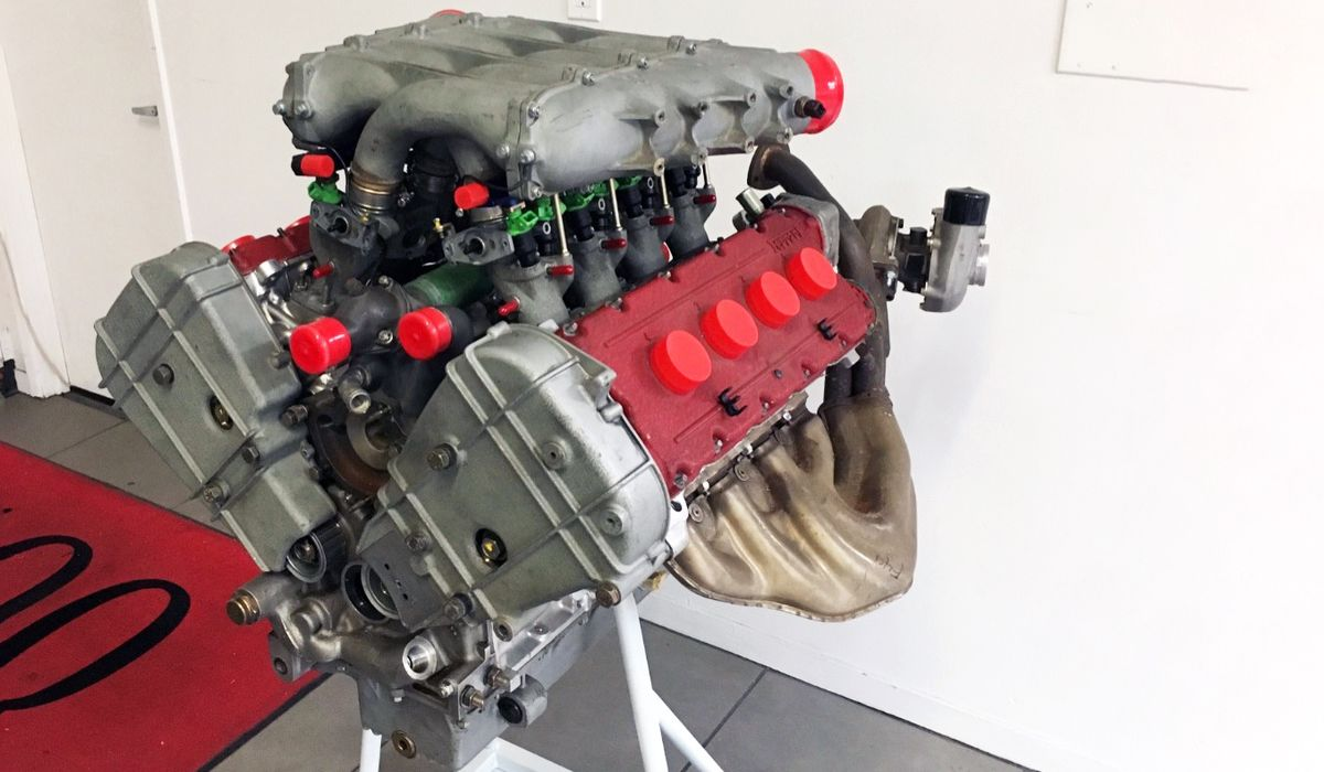 This Ferrari F40 Engine Is For Sale And It's Time To Treat Yourself
