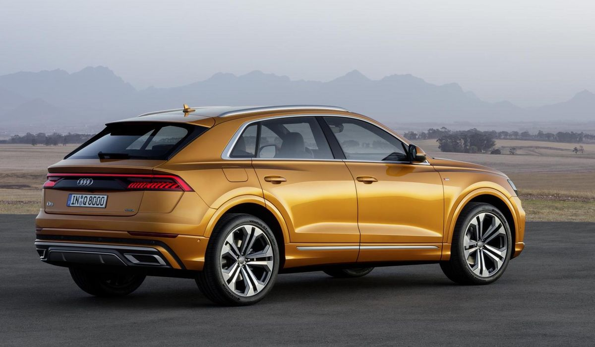 The Audi Q8 Is Five Metres Of SUV Conspicuousness