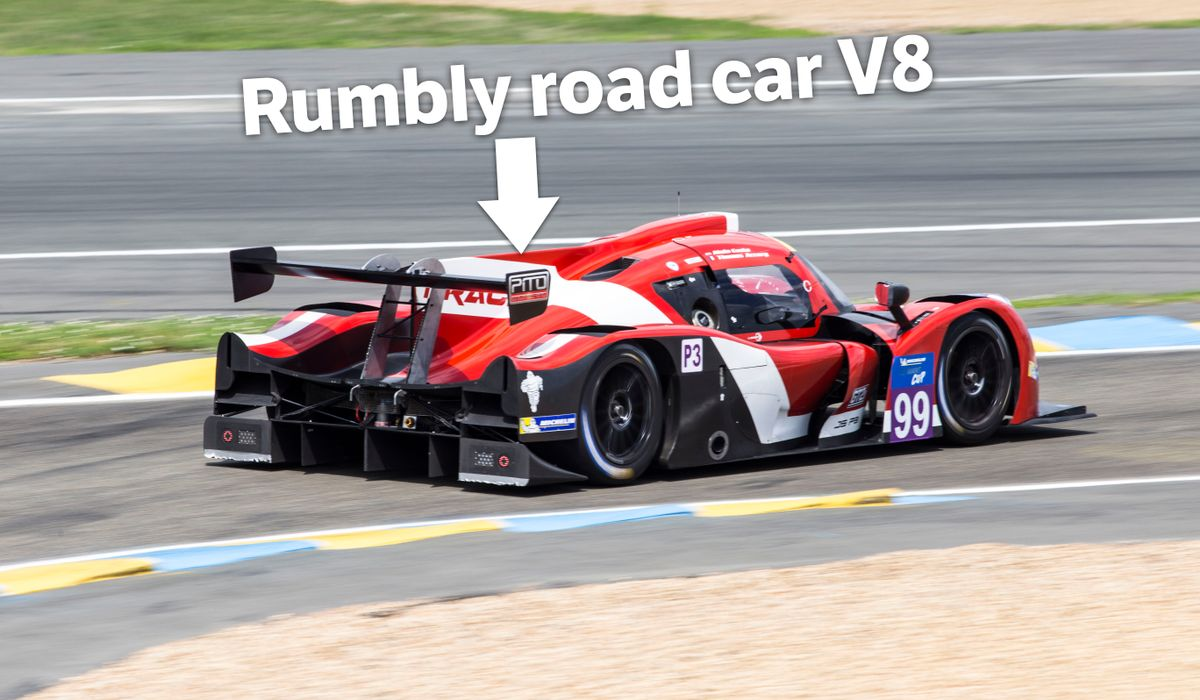 The Best-Sounding Le Mans Prototypes Use A V8 From An SUV