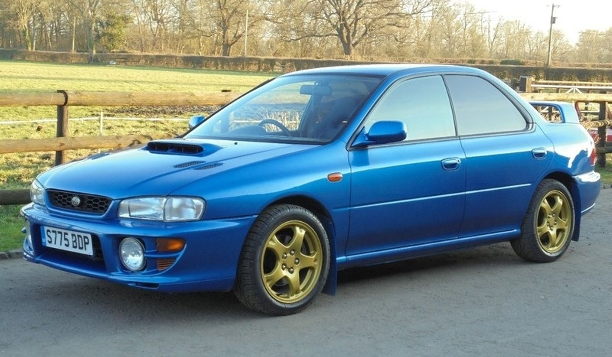 This £9000 Subaru Impreza WRX Type RA '555' Is Winning Our