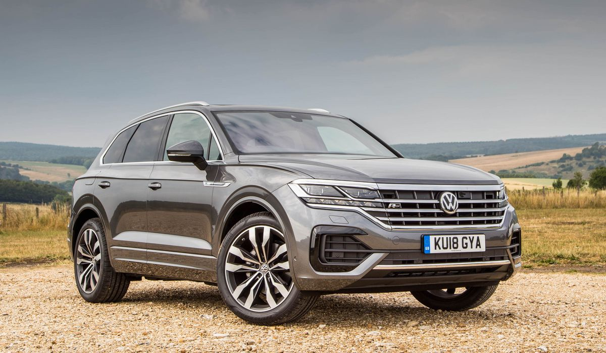 2019 Vw Touareg Review The Tech Is Amazing And Sometimes