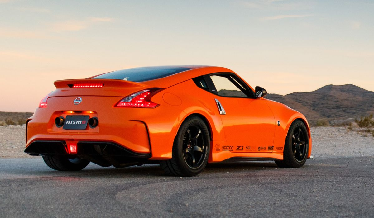 Nissan's New Twin-Turbo, 400bhp 370Z Is A Rolling Parts