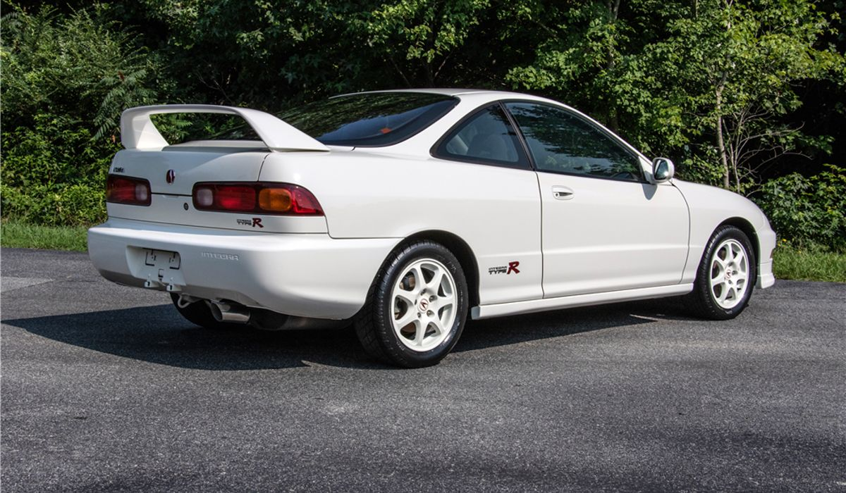 A Barely Used Acura Integra Type R Just Fetched 64k At Auction