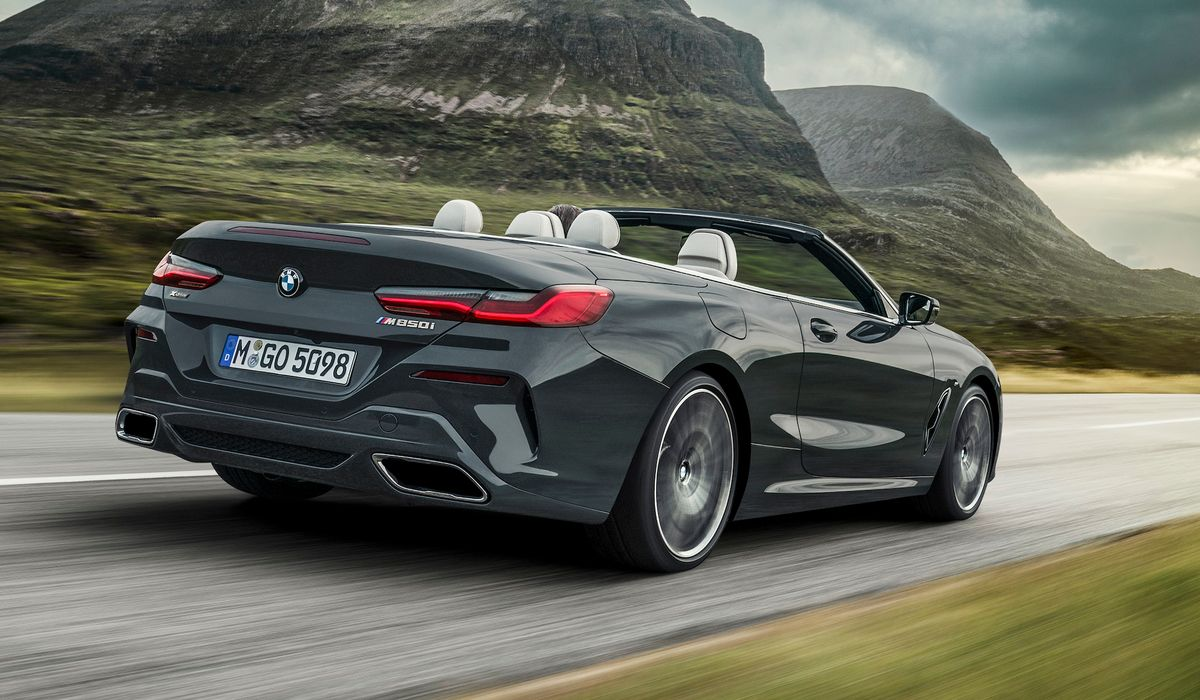 The BMW 8-Series Convertible Is Officially Here With Up To
