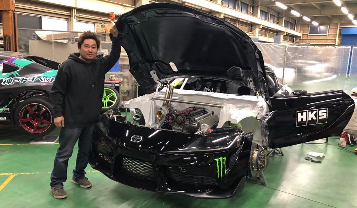 Someone's Already Working On A 2JZ-Powered A90 Toyota Supra