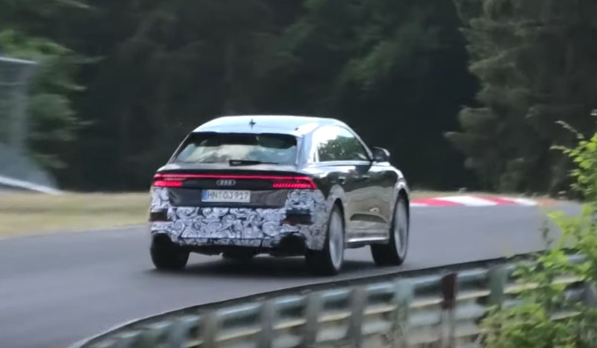 Watch The New Audi Rsq8 Tear Its Way Around The Nurburgring
