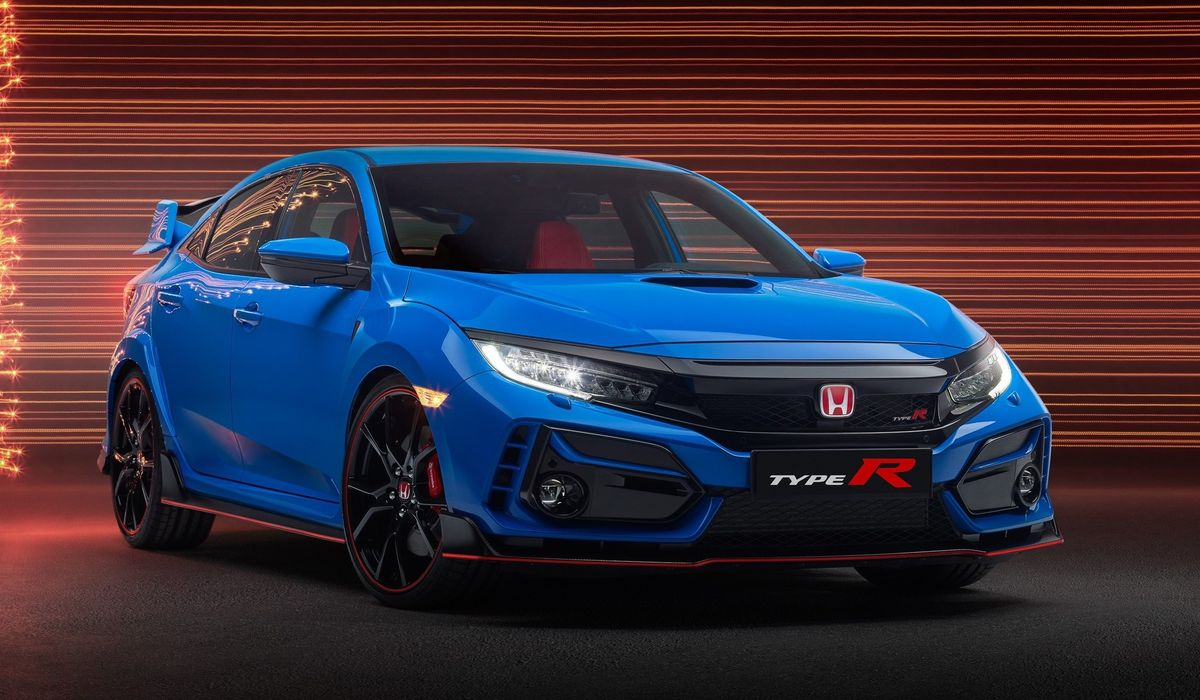 the new look honda civic type r has banished the fake front vents look honda civic type r has banished
