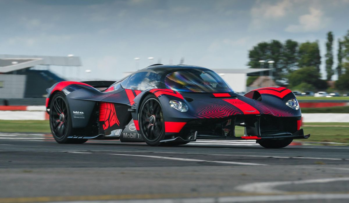 Aston Martin Has Cancelled Its Valkyrie Based Wec Entry