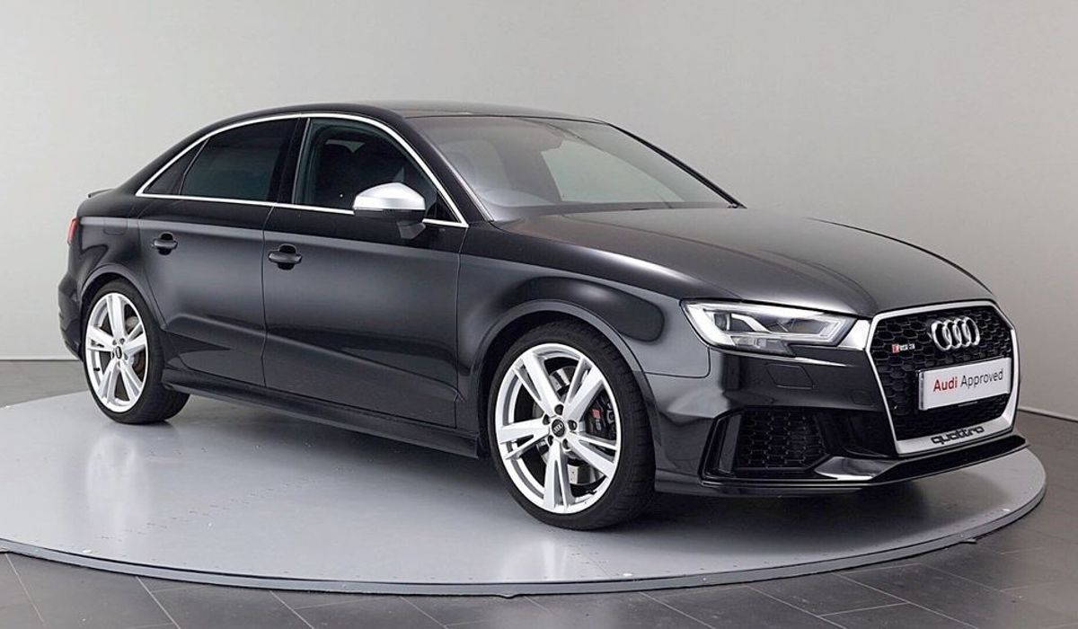 A Nearly Half Price Audi Rs3 Saloon Is A 32 500 Way To Play It Cool