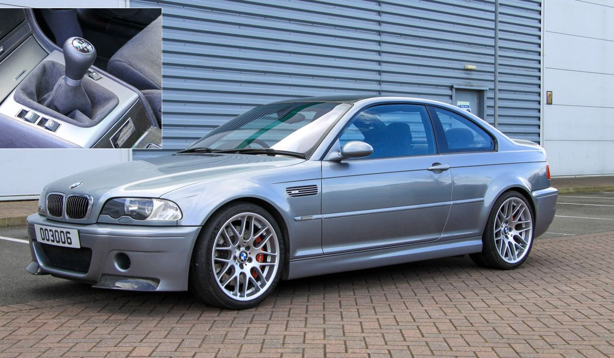 Here S Your Chance To Buy A Manual Converted Bmw M3 Csl
